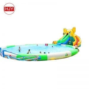 water park inflatable floating
