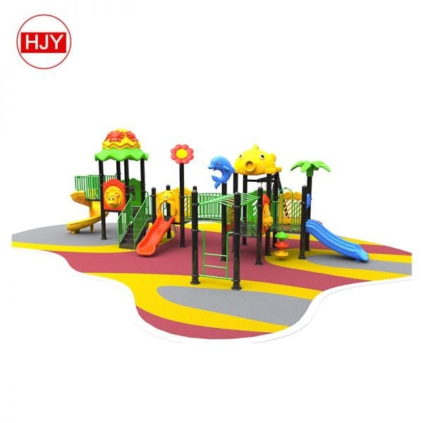 2019 Most Popular Children new Style Outdoor Playground combo slide for kids