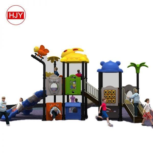 outdoor kids used playground slides