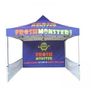 printing folding tents