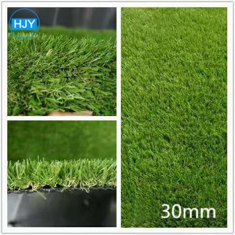 Beautiful landscaping green artificial grass