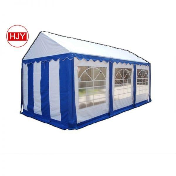 factory blue tent