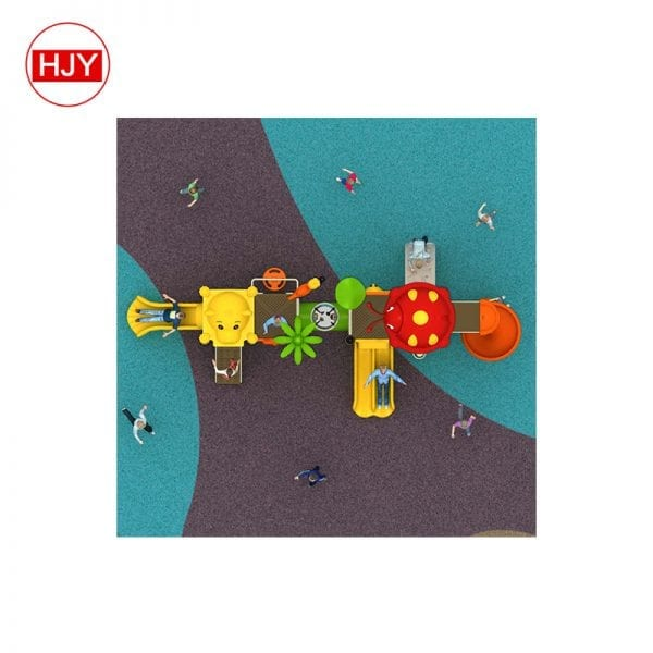 factory plastic tube playground