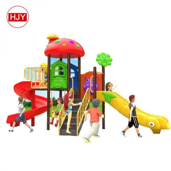 Plastic Outdoor Playground Slide