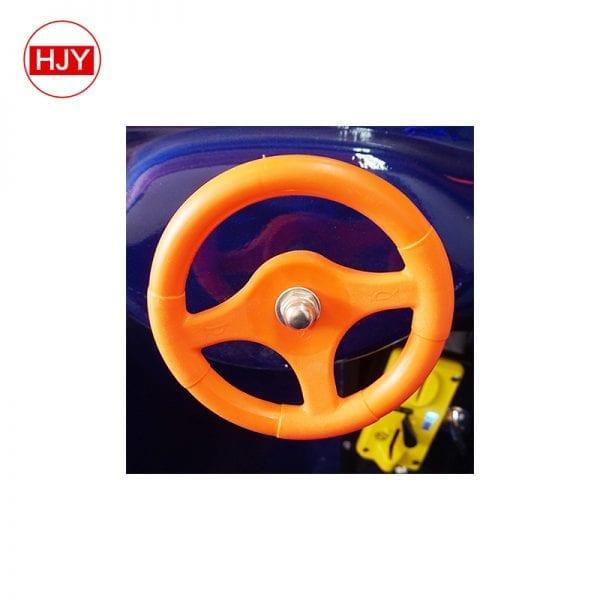 racing game with steering wheel