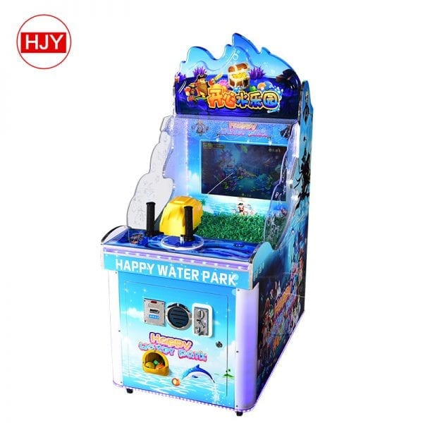 robot gunner water game machine