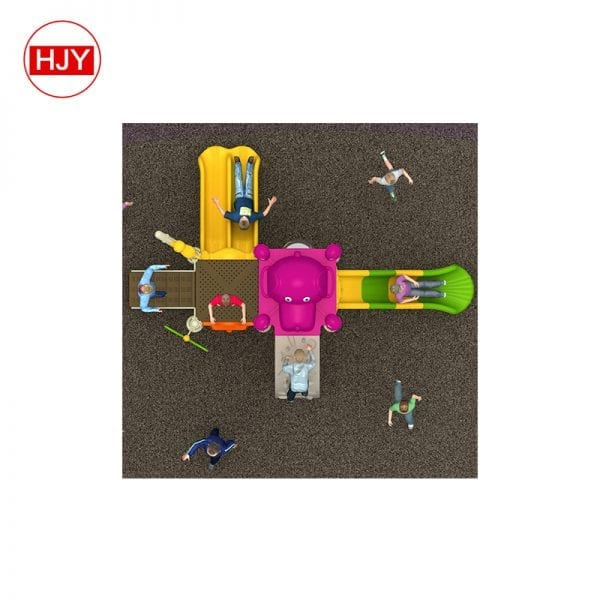 Kids plastic Multi-function slide