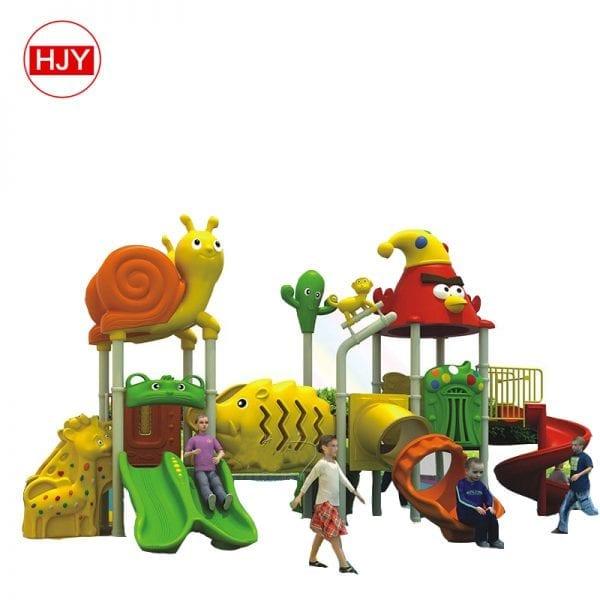 Plastic Slide Playground