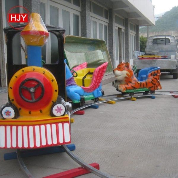 Fiberglass train