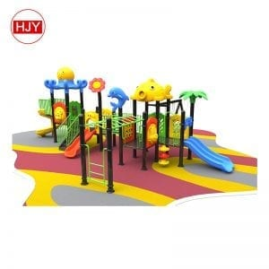 Kids plastic outdoor playground