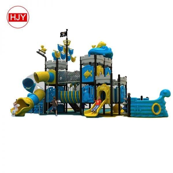 outdoor kids plastic slide