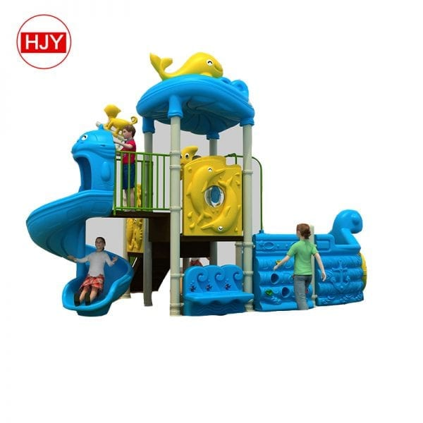 playground tube plastic slide