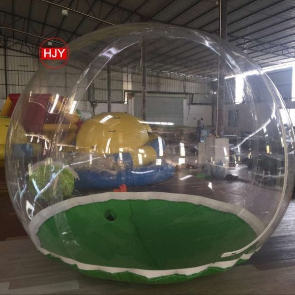 Inflatable outdoor exhibition tent