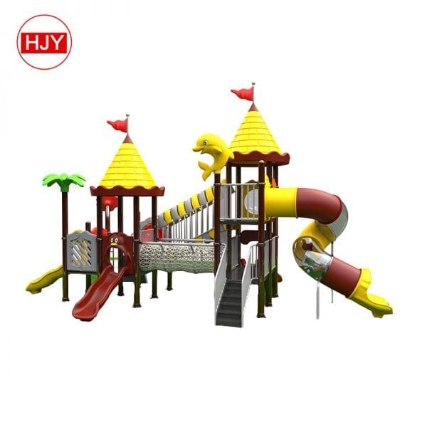 water playground combo castle