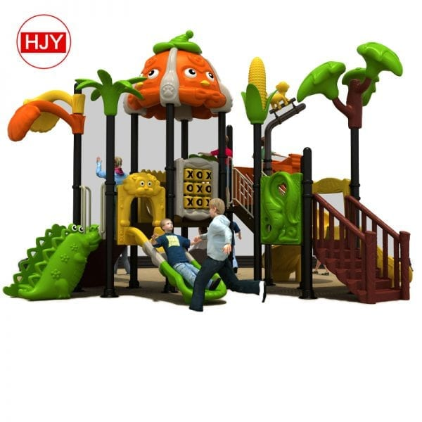 playground plastic slide