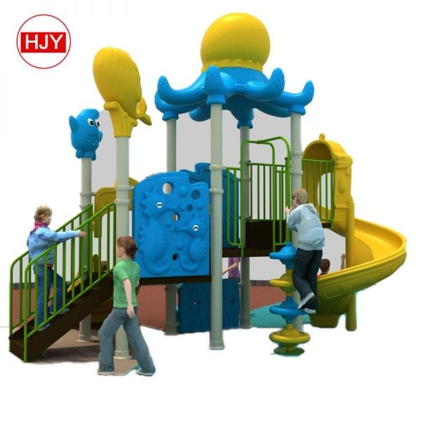 playground large plastic slide
