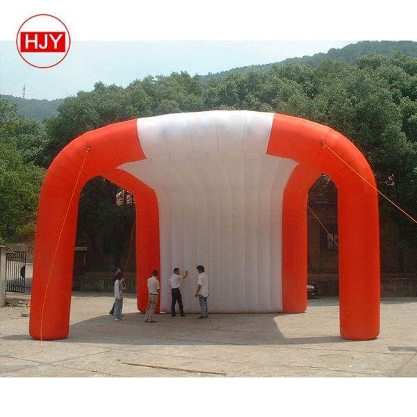 events advertising air tent