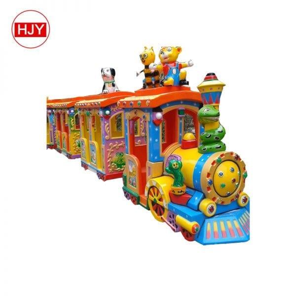 Playground kids train park