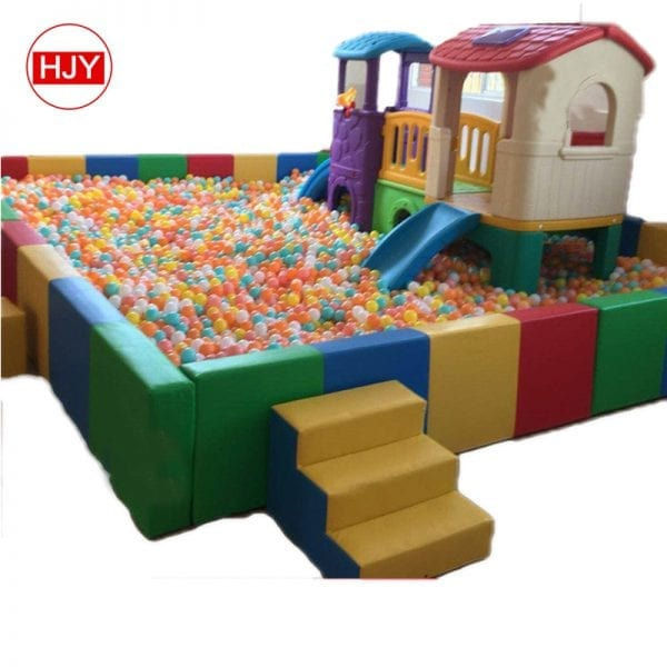 Indoor play soft plastic toys
