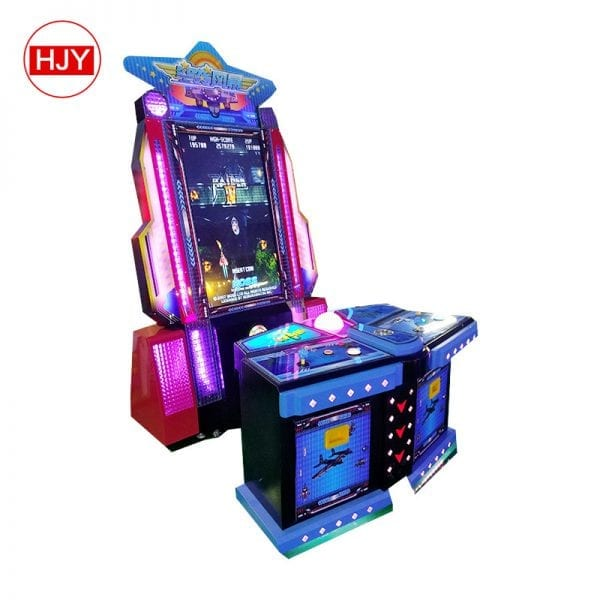 electronic air exercise game machine