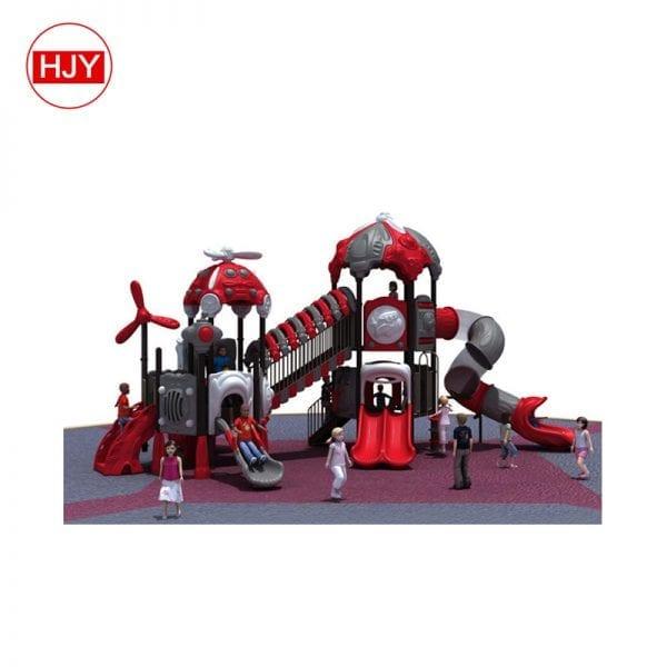 School yard outdoor slide