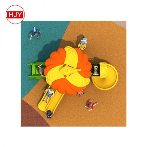 playground plastic slides