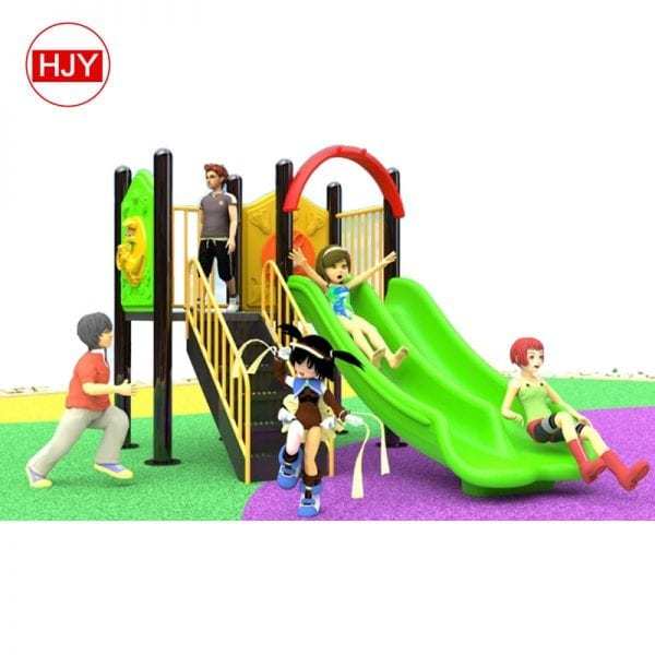 small outdoor playground plastic slide