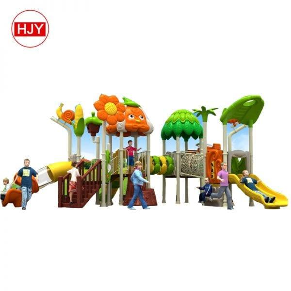 custom garden Plastic tube slide