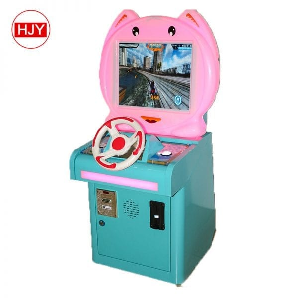 Cute little eyes frog shape coin operated