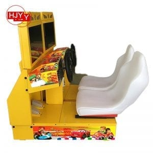Children toy car racing game machine
