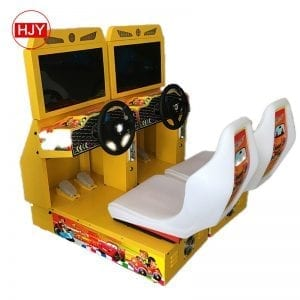 Children toy car racing game machine