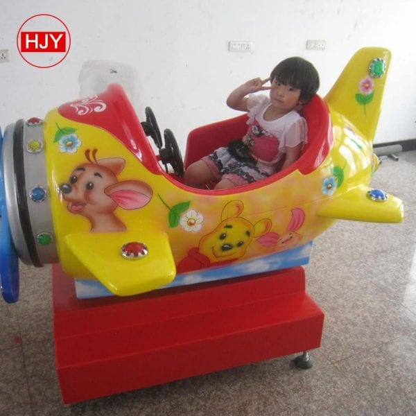 swing vehicle game machine