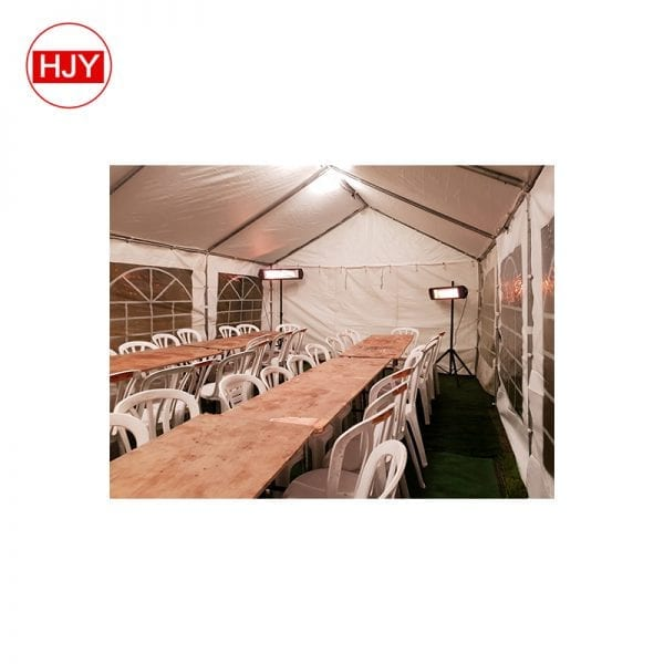 tent outdoor wedding party