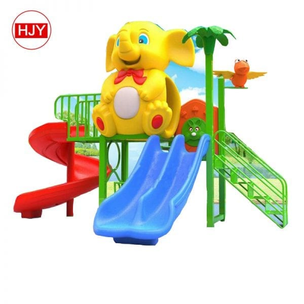 Hard Plastic Outdoor Playground Slide