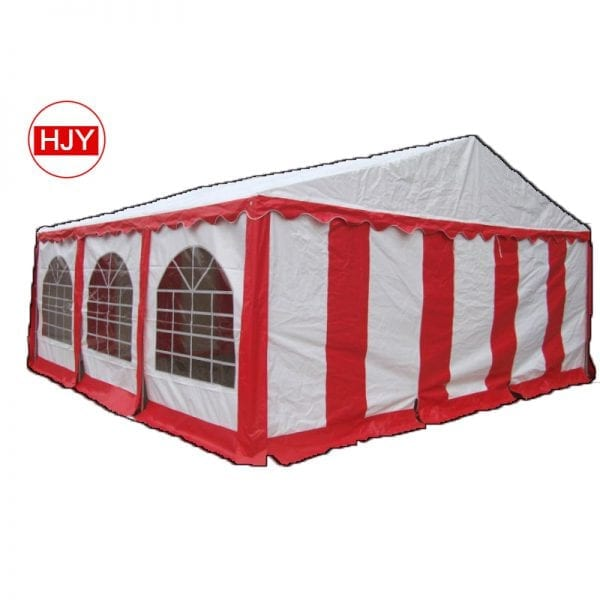 Comfortable wedding stretch tents
