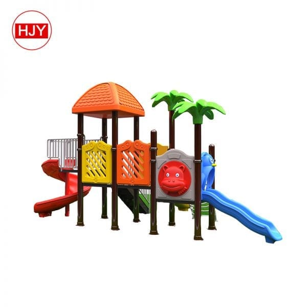 outdoor playground children slide