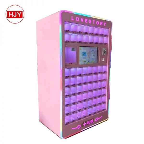 scan lipstick vending machine