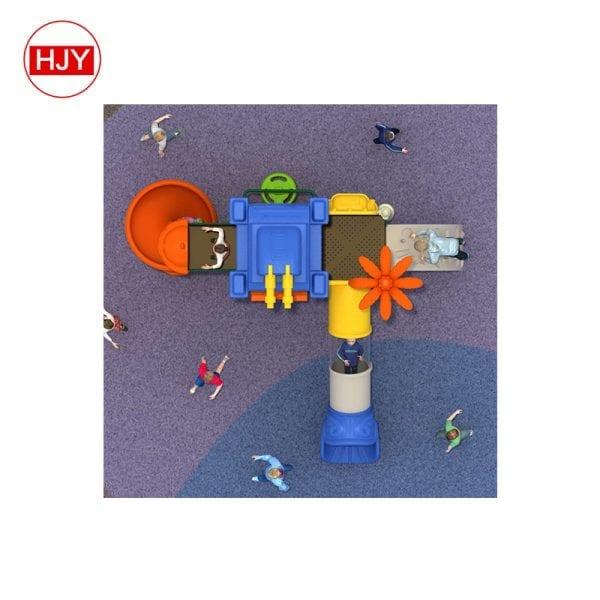 children plastic tube slides