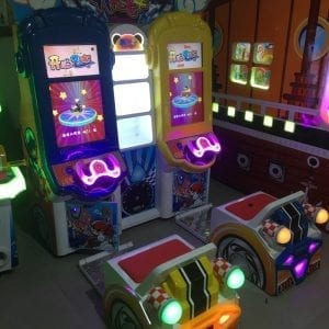 Happy Double Coin speed racing game machine