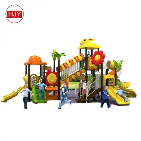 outdoor playground big slide