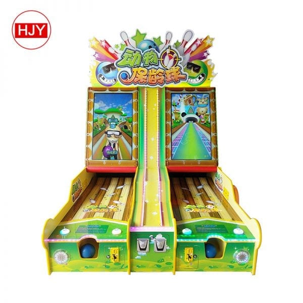 arcade shooting bowling game machine