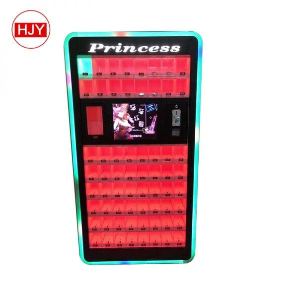 multi-functional lipstick vending machine
