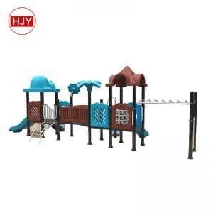 Plastic Slide Outdoor Playground
