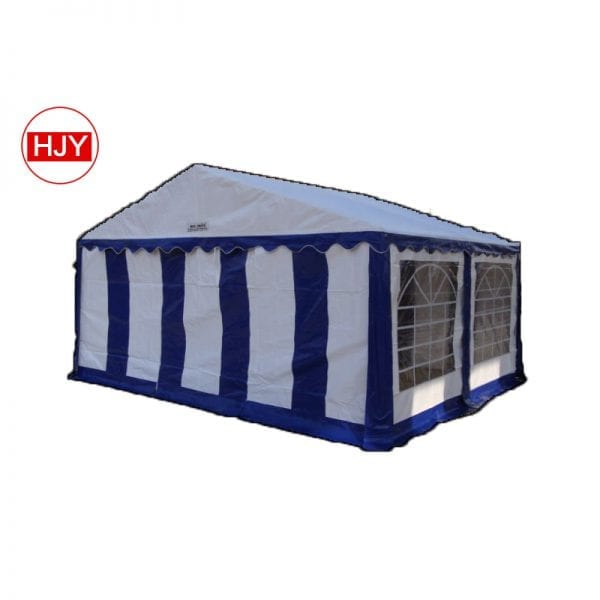 steel consitration PVC tent