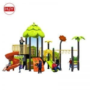 Galvanized pipe plastic big slide kids