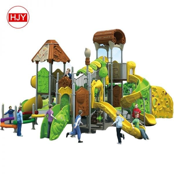 large kids outdoor plastic slides