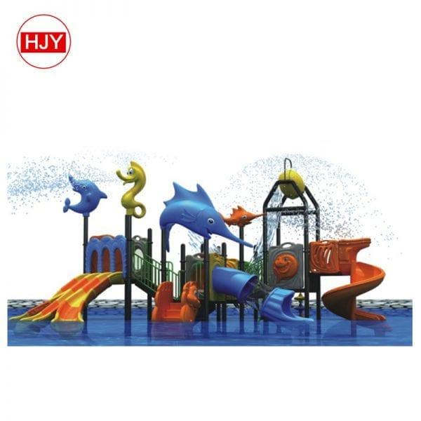large plastic water slide